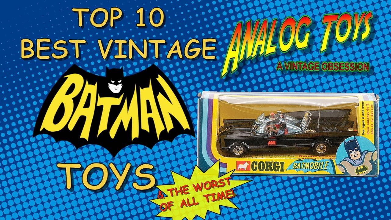 Retro Top Toys : Top best vintage batman toys action figure