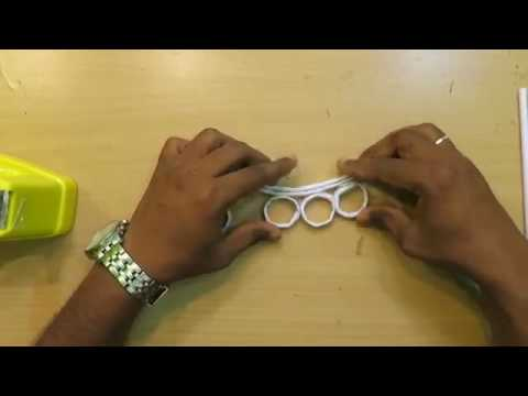 How to make a paper Brass knuckles   Easy paper knuckles Tutorials