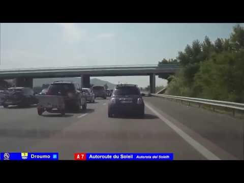 French highways -  Autoroutes du Sud de la France