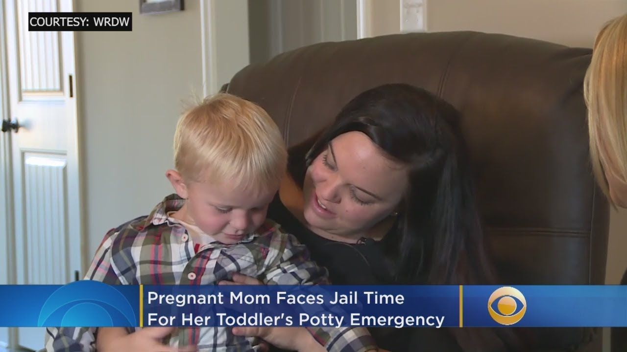 Pregnant Mom Faces Jail Time For Her Toddler's Potty Emergency