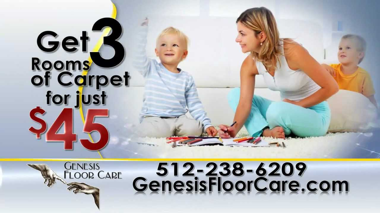 Genesis Floor Care Carpet Cleaning : Pflugerville and Round Rock TX : 512-238-6209 - YouTube