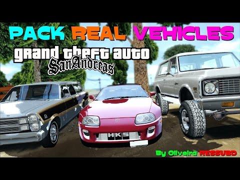 GTA PACK 100% DE VEÍCULOS REAIS (REAL VEHICLES) VERDADEIROS PARA GTA SA FULL HD 1080p