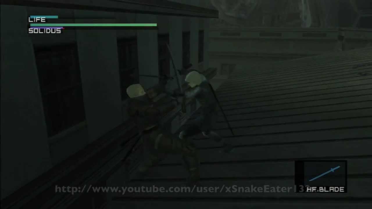 Metal Gear Solid 2 Hd 1 28 58 E Ex Big Boss Speedrun Part 9 9
