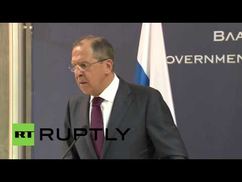 """Serbia: Russia deeply concerned about Macedonia's """"organised terrorism"""" - Lavrov"""