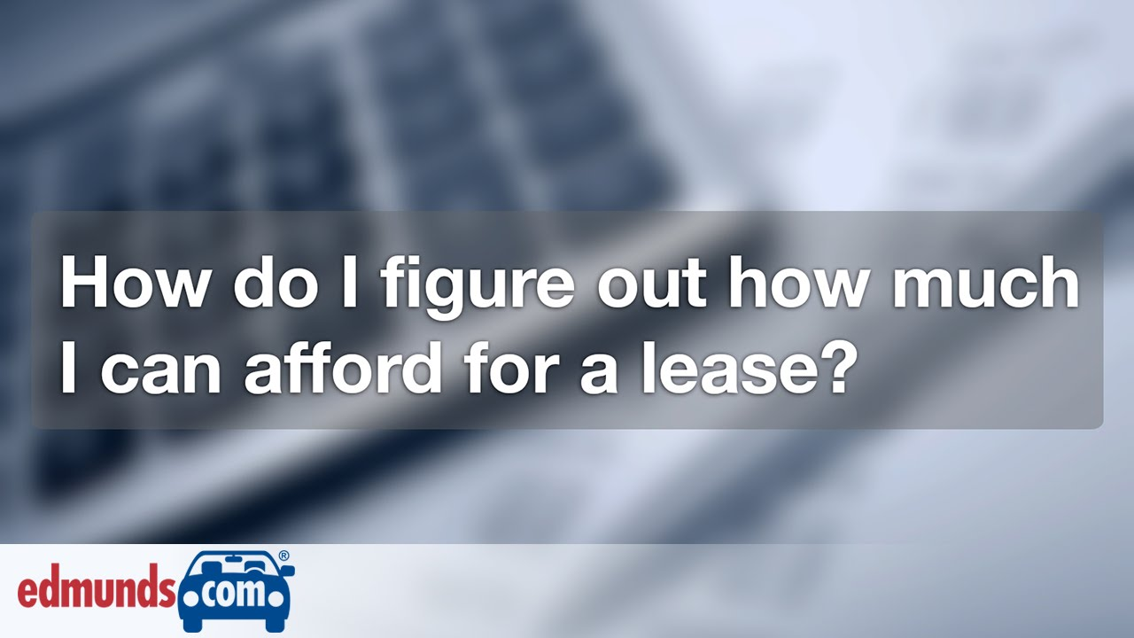 Discover The 20 Percent Rule Car Leasing