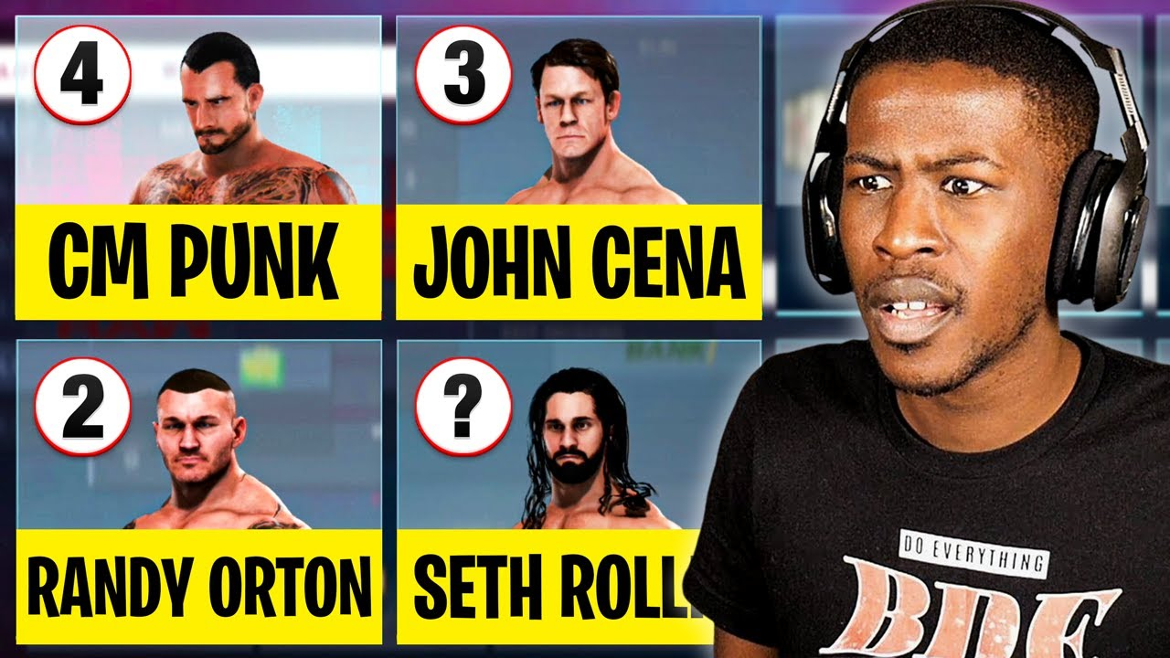 WWE 2K20 But I Put My Top 10 Favorite Wrestlers On 1 Roster!
