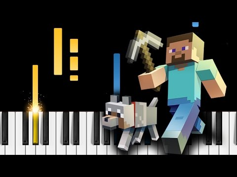 Minecraft Theme - EASY Piano Tutorial