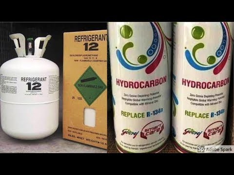 How To Fill Hydrocarbon In Refrigerator Which Contain R12 Refrigerant