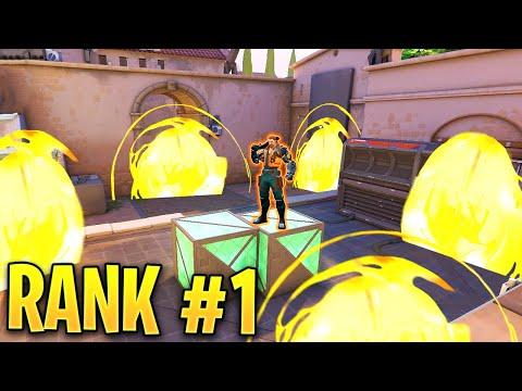Valorant: What The RANK 1 BREACH Player Looks Like! - 500IQ Tricks U0026 OP Plays - Valorant Highlights