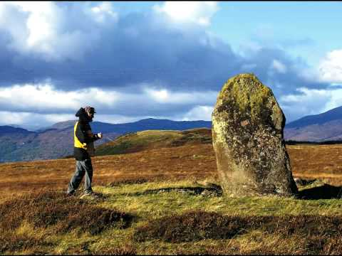 Dowsing for ley lines, standing stones, spirit lines, cup-marked stones