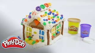 How to Create the Cheeriest Holiday Gingerbread House  Play-Doh: Creative Ideas for Kids