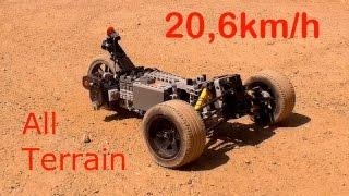 [MOC] Lego Technic RC Fast Car - 20,6 kmh - With 2 SBrick