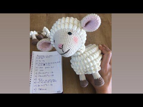 Amigurumi kuzu yapımı