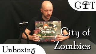 City of Zombies Unboxing - Grim Tree Games