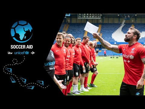 Soccer Aid for Unicef | Ant Middleton sets a high bar challenge to the teams