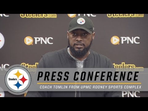Tomlin on a Disappointing Ending, Antonio Brown, Offseason Assessments | Pittsburgh Steelers