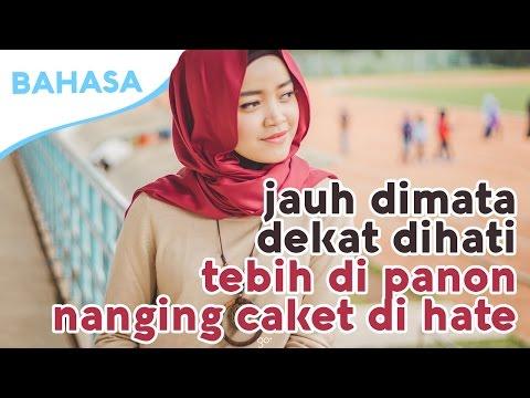 Belajar Bahasa Sunda #3 - RAN - JAUH DI MATA DEKAT DIHATI - (Cover by Fadilla Indriyanita)