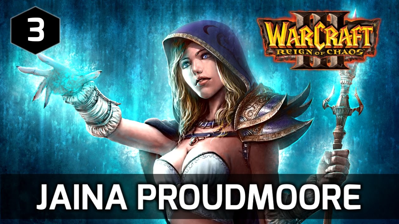 Warcraft 3 Story Jaina Proudmoore S First Appearance Ever