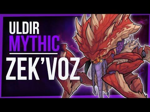 ZEK'VOZ | Mythic Uldir | Melee PoV - WoW Battle for Azeroth 8.0.1 | FinalBossTV