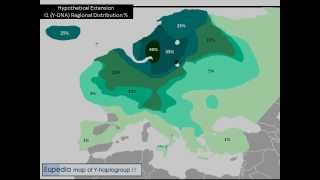I1 (Y-DNA) Haplogroup at the End of the Ice Age