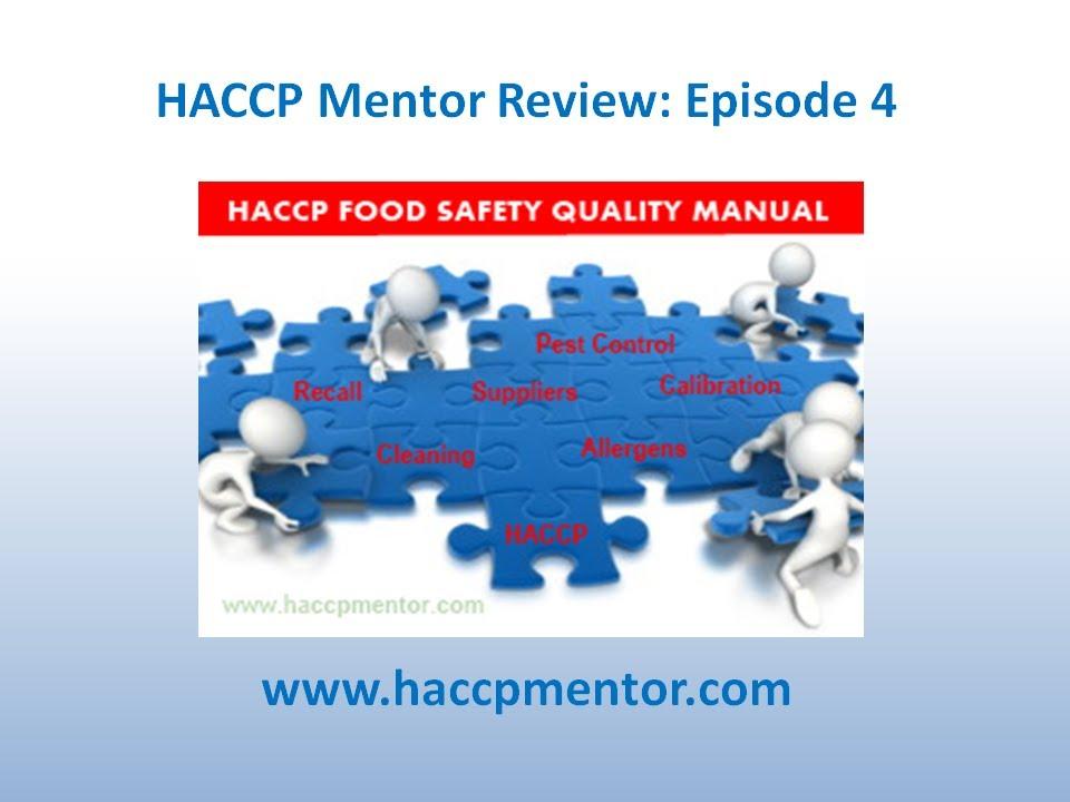 How to organise your HACCP Manual - HACCP Mentor