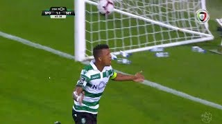 Goal   Golo Nani: Sporting (2)-1 V. Setúbal (Liga 18/19 #2)