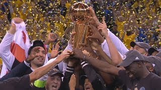 Warriors 2017 NBA Champions! Kevin Durant Finals MVP! Game 5 Cavs vs Warriors