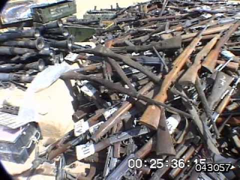 Iraq War Captured Weapons Youtube