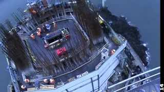 Queensferry Crossing - Centre Tower Concrete Pour & More