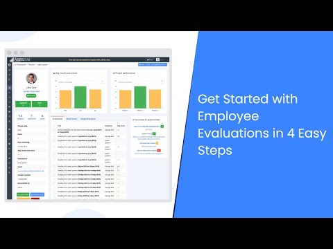 Get started with employee evaluations in 4 easy steps