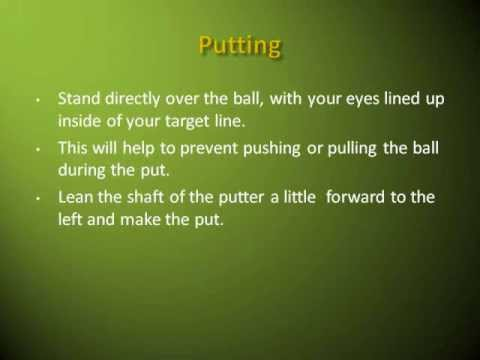Basic Golf Tips and Techniques