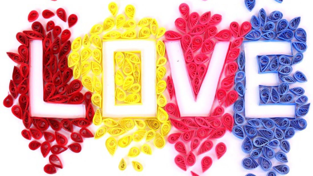 Create beautiful quilled letter art crafts guidecentral youtube create beautiful quilled letter art crafts guidecentral altavistaventures Gallery