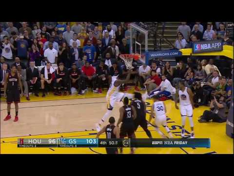 Steph Curry hits the last minute jumper after CRAZY ball movement!