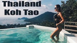 Тайланд остров Ко Тао. Встреча с АКУЛОЙ .День Рождения МАШИ. Koh Tao
