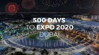 500 DAYS TO EXPO 2020!