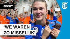 Handbaldames dolblij én in tranen na WK-goud