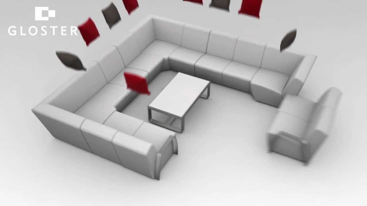 Gloster Club Outdoor Modular Furniture Youtube