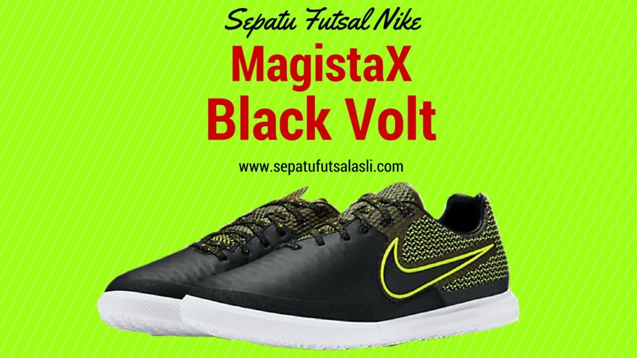 timberland chukka leather - Sepatu Futsal Nike MagistaX Finale Black Volt 807568-007 - YouTube