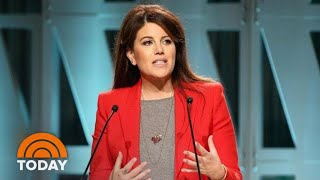 Monica Lewinsky Reflects On Surviving Her 'Mistake' In Speech | TODAY