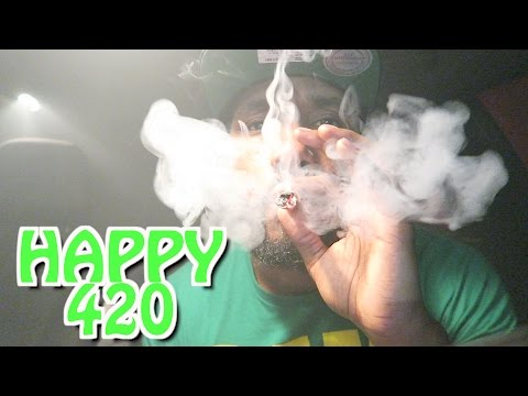 Happy 420 * New Camera * Shopping * Hotboxing Smoking Blue Dream