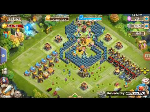 Castle Clash Expert Dungeon 8 10 3 Flamed Killing All Bosses For Fun. No Mino Or Spirit