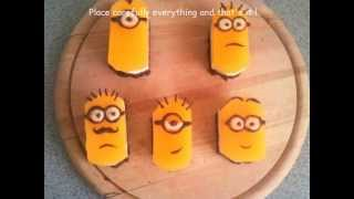 Minions With Mango  Passion Fruit Mousse Cake (despicable Me)