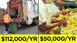 Surprisingly High Paying Jobs