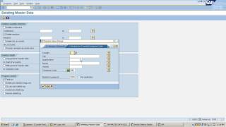 How to delete master records permanently in sap || deletion