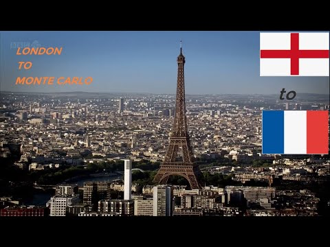 """BBC's Great Continental Railway Journeys """"London to Monte Carlo"""" S01E01"""