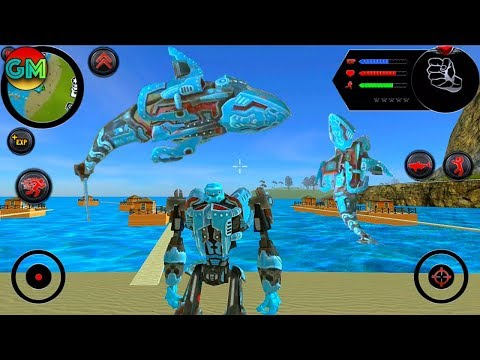 Robot Shark #1 New Game | By Naxeex Corp | Android GamePlay FHD