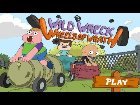 Clarence Game - Wheels of Wrath By Cartoon Network