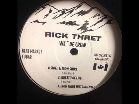 Iron Shirt - Rick Threat (Produced by Chaz E B of The Beatmarket)