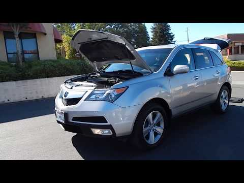 2010 Acura MDX SH AWD with Tech Package 1 owner clean Carfax video overview.