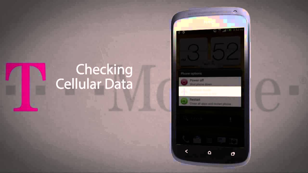 How to Fix Inability to Access Data/Internet -- HTC One S